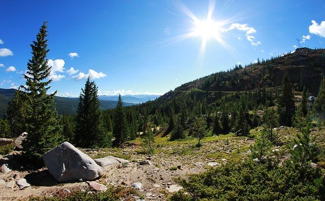 Acampada en la naturaleza en Estados Unidos