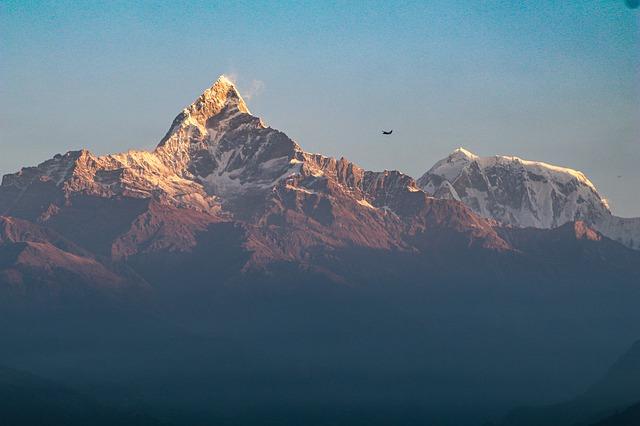 Annapurna en el centro de Nepal