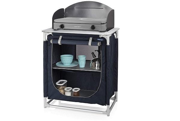 Armario de cocina de camping plegable y compacto