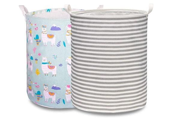 Bolsa de algodón plegable para la ropa sucia
