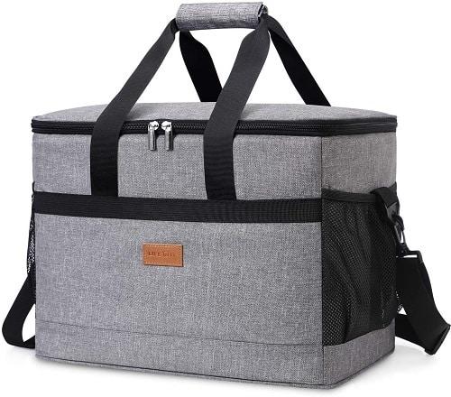 Mochila de picnic para 2 personas con espacio de almacenamiento
