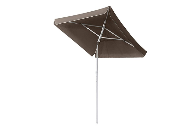 Paraguas de jardín UV50 rectangular 200x125 cm