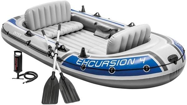 Barca hinchable - capacidad para 5 personas