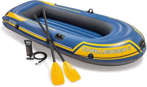 Embarcación neumática con kit de reparación incluido
