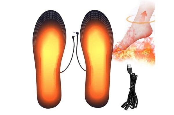 Plantillas térmicas con mando a distancia inalámbrico y recargable
