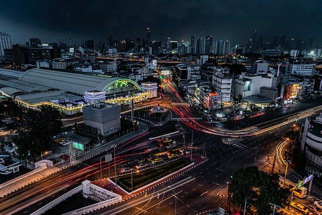 schema de la ville de bangkok
