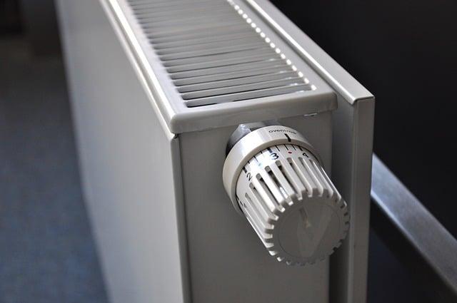 radiateur en marche